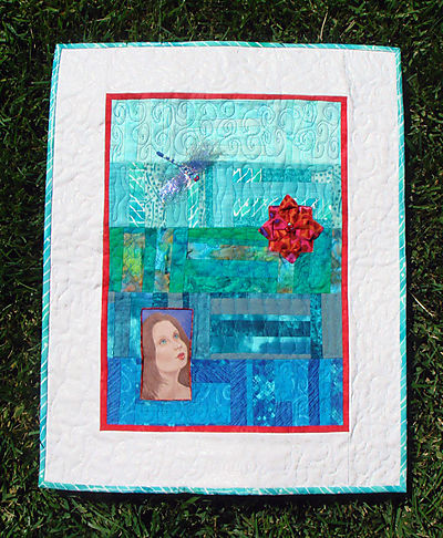4SQS Summer Quilt Finished
