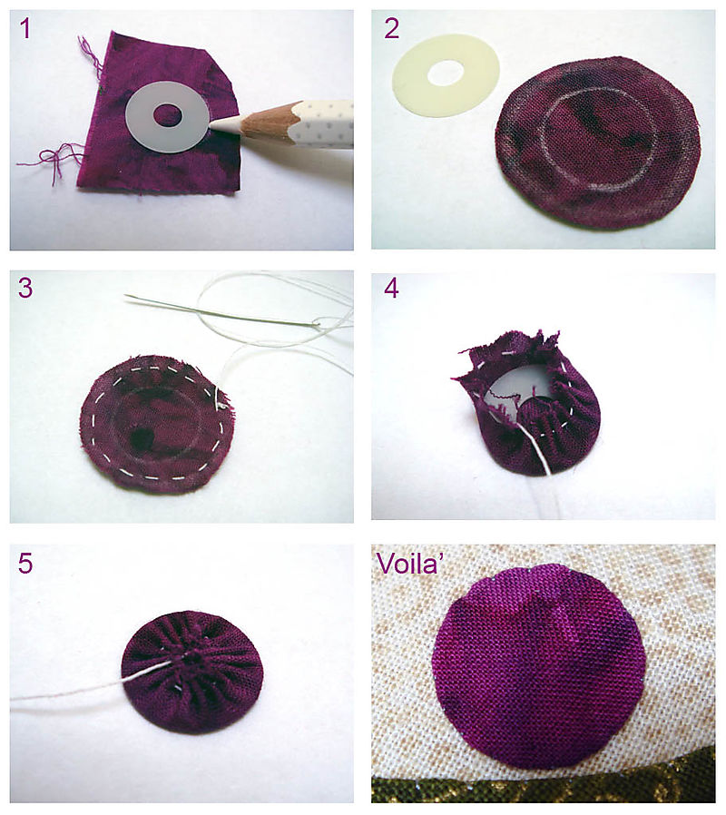 How to make a perfect circle applique