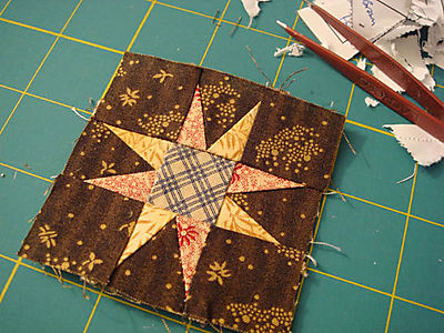Paper Pieced Star