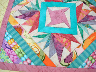 My SFRR2 quilt detail