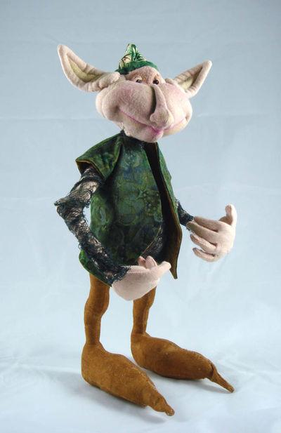 Ghillie Guerkin doll