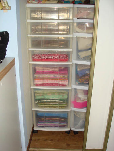 Some of quilt cottons organized