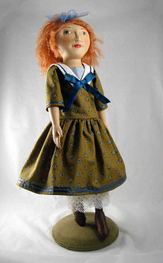 Completed Verity doll