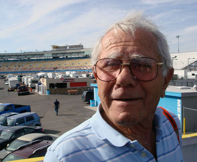 Grandpa at Phoenix International Raceway