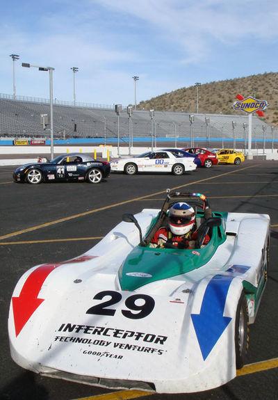 Steve's SRF at Phoenix International Raceway