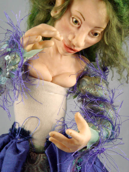 Detail of uncomplete faerie