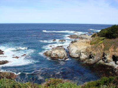 Coastline along Big Sur