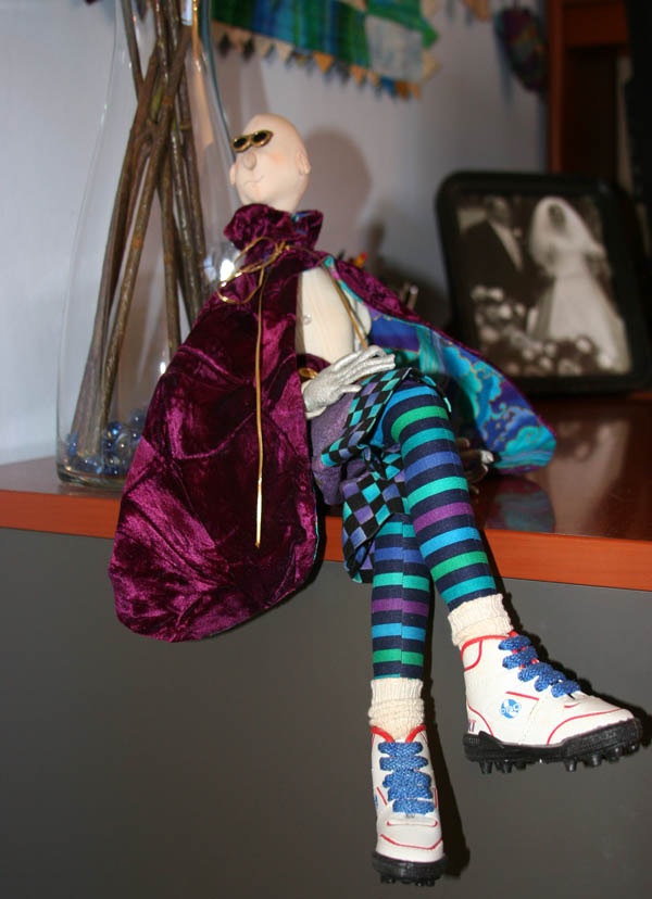 The Pinball Wizard doll