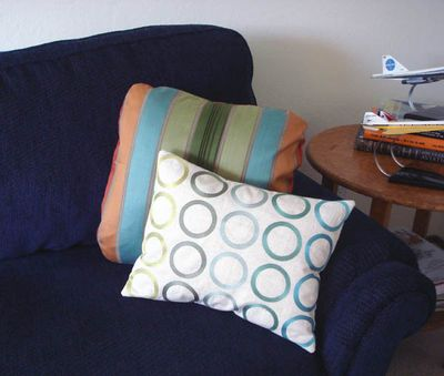New pillows for sofa