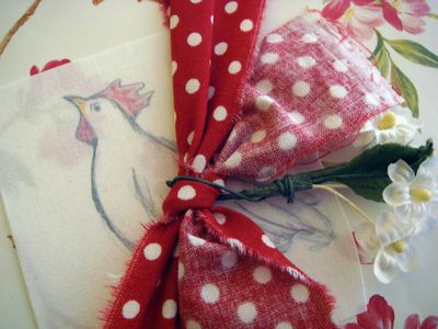 Ribbon on package