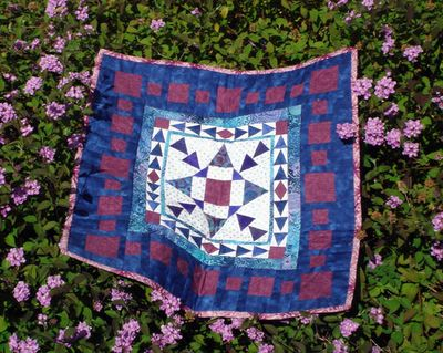 My Spring Fling Round Robin 3 quilt