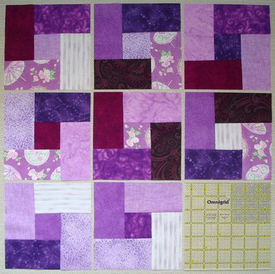 Purple Colorblocks made by me for Block Swap
