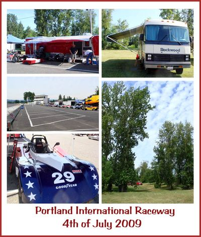 4th of July 2009 at Portland International Raceway in Oregon