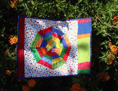 Placemat quilt from Lynn