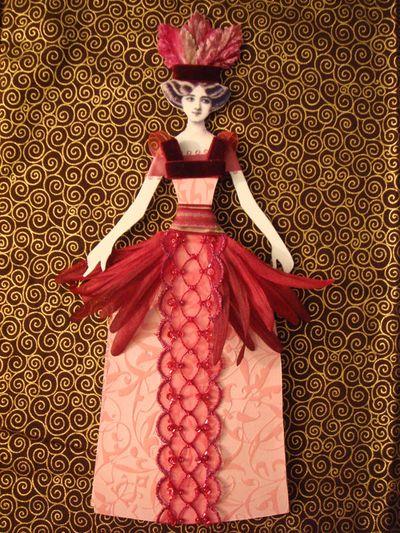 Pink Flat Doll