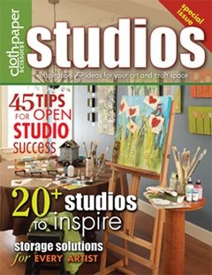 cloth paper scissors Studios Fall 09 issue