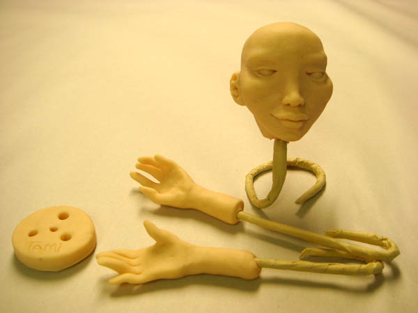 My puppet head and hands
