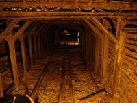Gold mine at Empire Mine