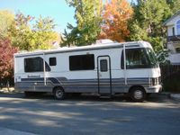 RV parking is hard to do sometimes