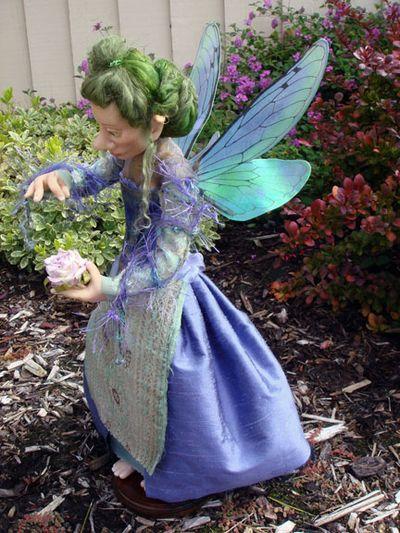 The Handmaiden Faerie in the garden