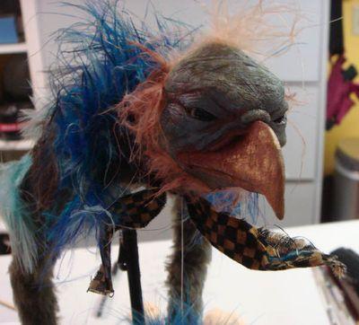 Toby Froud bird puppet