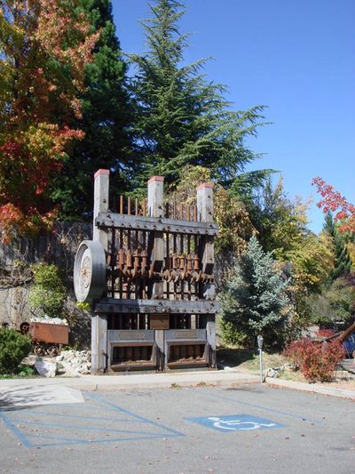 Old pumps in Nevada City