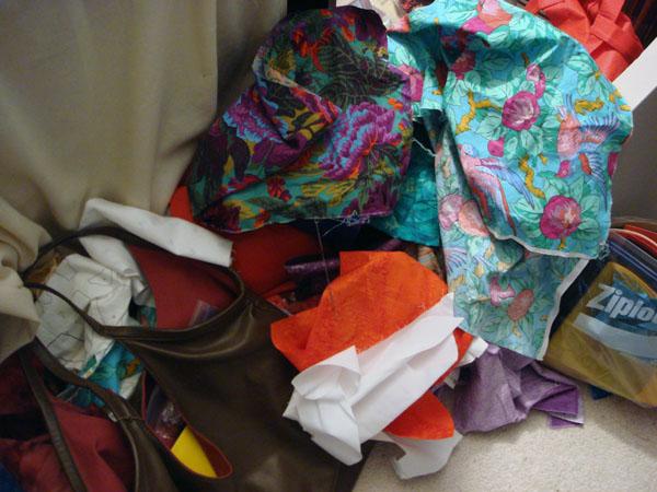 Aftermath of December 2009 studio floor