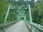 Metal bridge on Historic Columbia River Gorge Highway