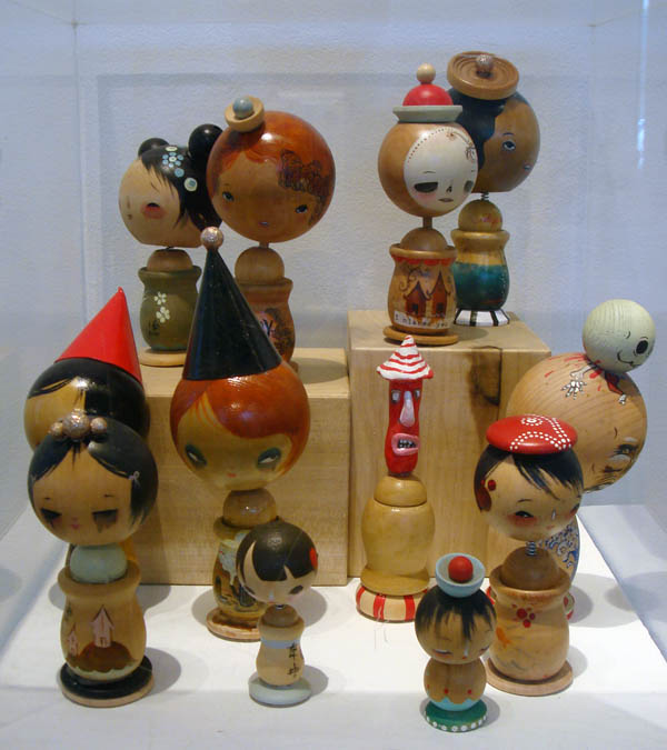 Kokeshi Dolls by Phoebe and Henry Washer