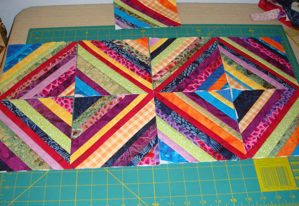 Nine string blocks