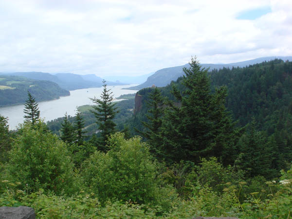 View of Columbia River Gorge