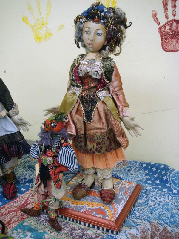 Christine Shively dolls