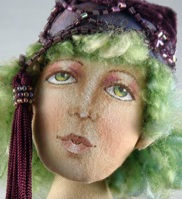 My Christine Shively class doll face detail