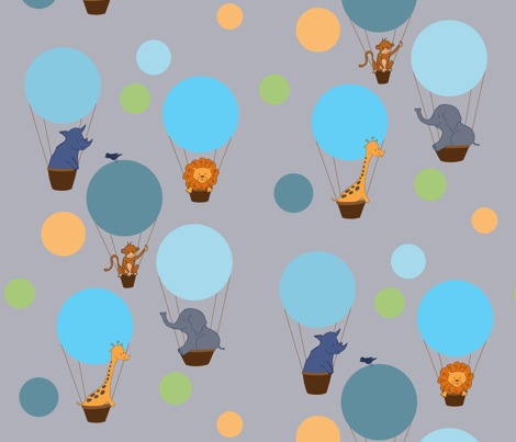 Animal Balloon Trip by Tami Levin