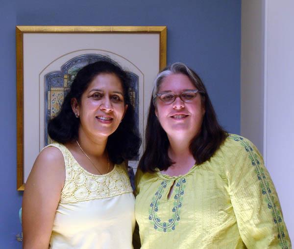 Heera and I