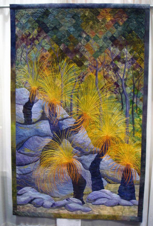 Grass Trees by Gloria Loughman