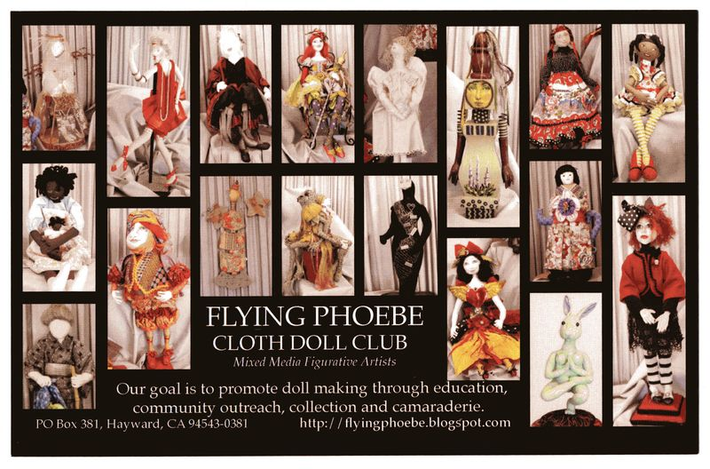 Flying Phoebe Cloth Doll Club Flyer
