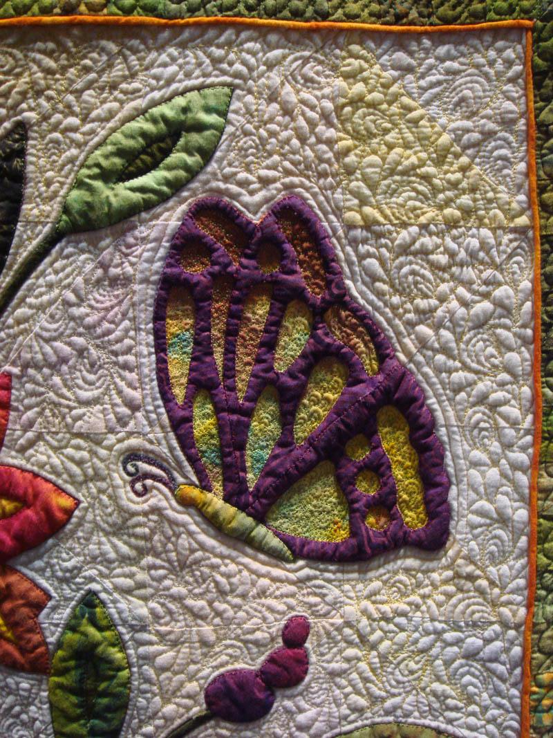 Detail II of Dance of the Butterflies by Deb Layt