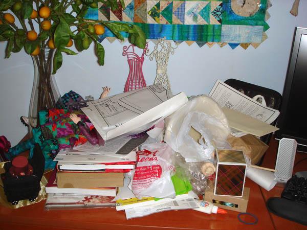 Chaotic Desk April 2011