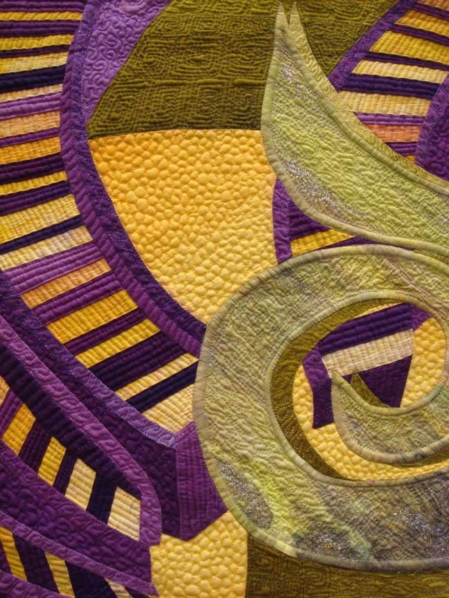 Detail of Calamari Time by Karlyn Bue Lohrenz