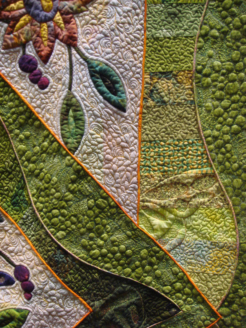 Detail of Dance of the Butterflies by Deb Layt