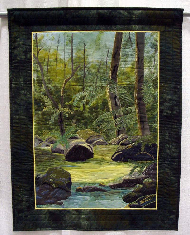 Rainforest Hues of Hope by Ann Gillidette