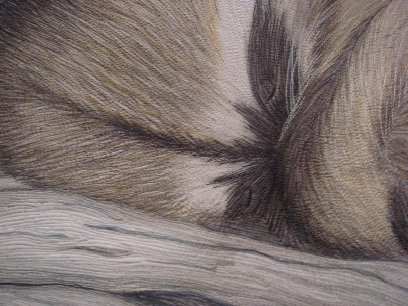 Detail of Siesta by Tanya Brown