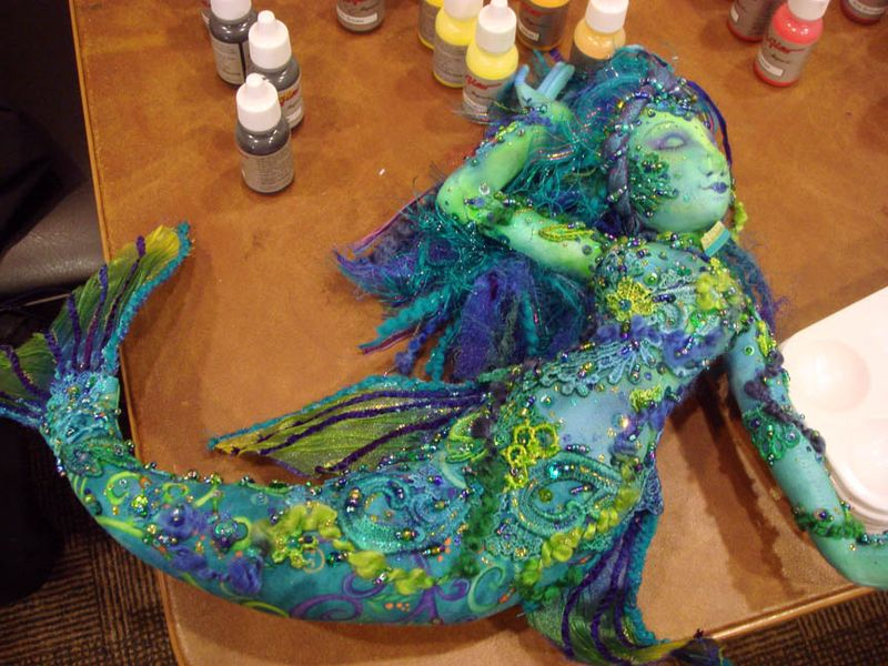 Arley Berryhills Mermaid Doll