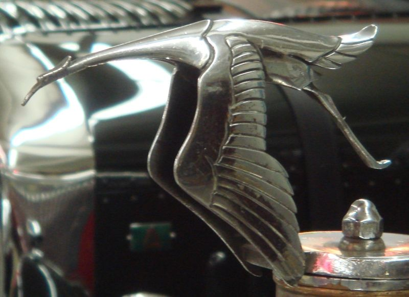 Heron Hood Ornament