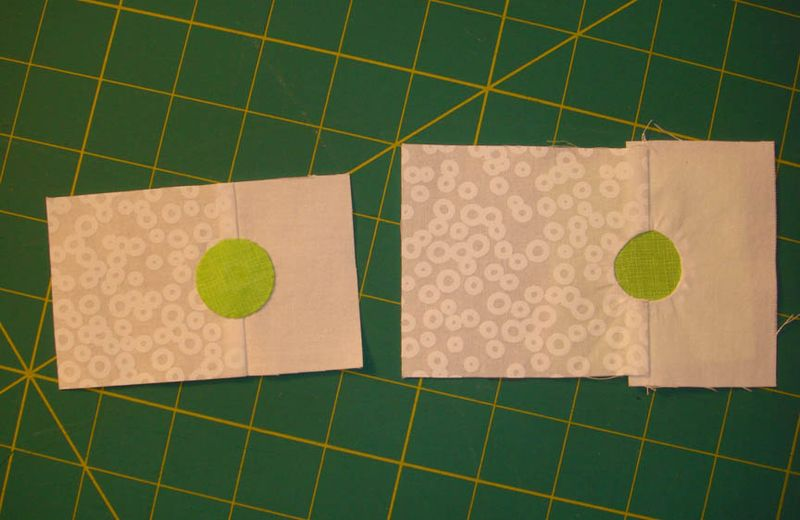 Needle turn applique vs inset circle