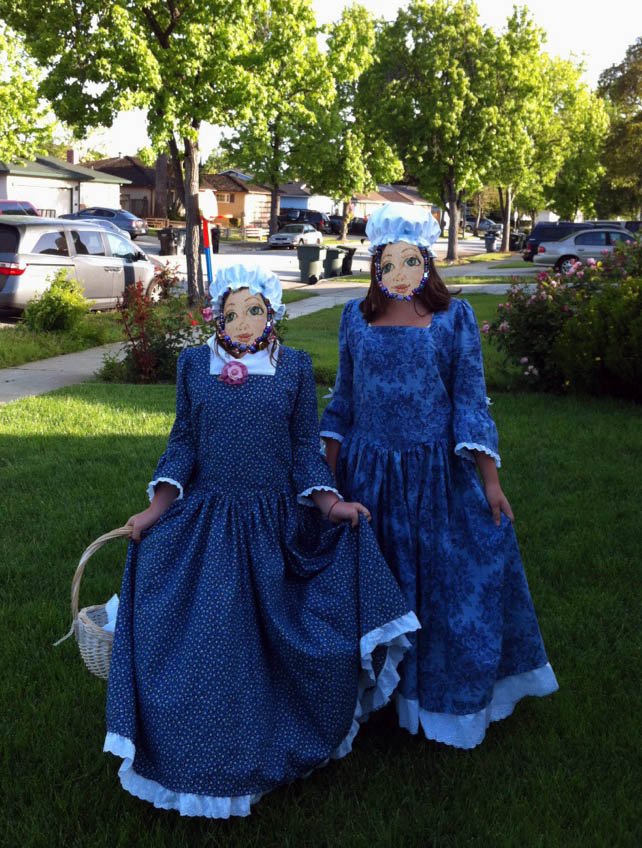Colonial Days dresses
