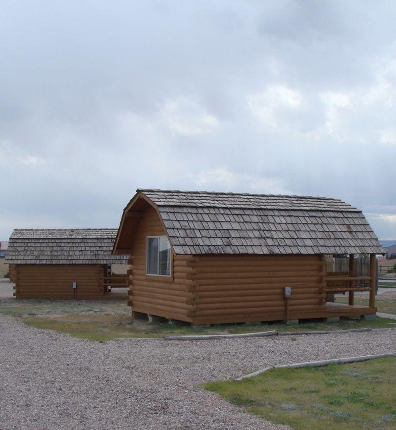 KOA cabins