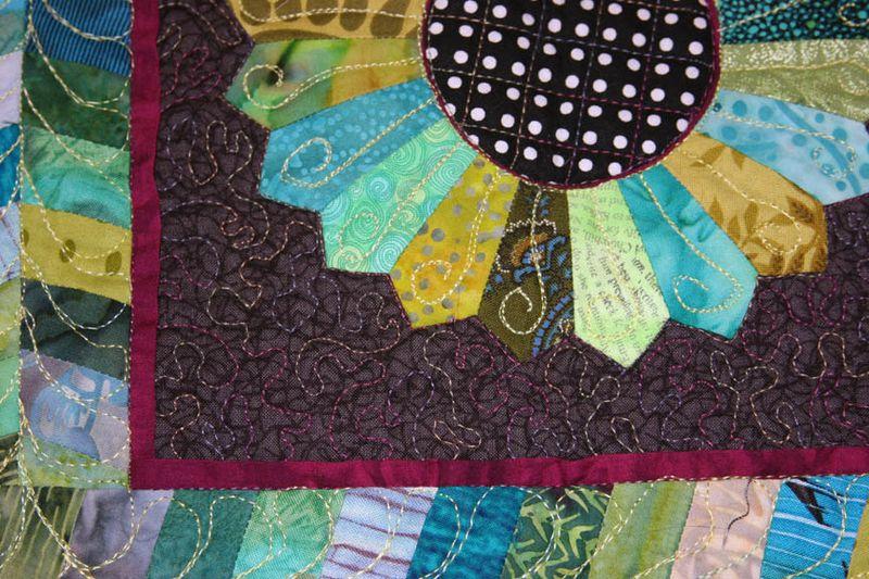 Quilt front details
