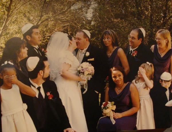 Prewedding kiss